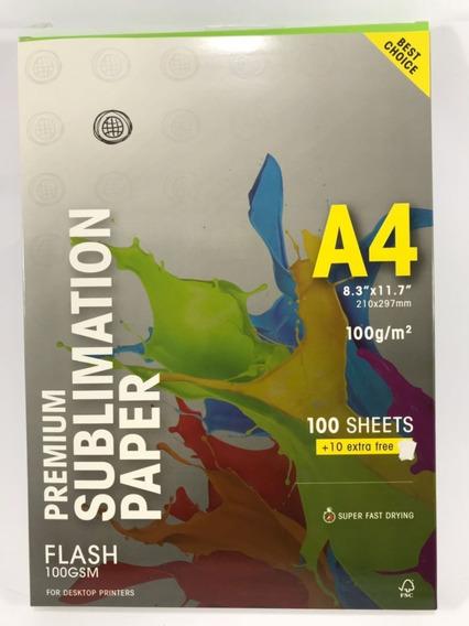 Papel Sublimático 110 Folhas A4 Globinho Premium 100g