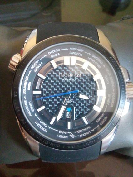 Relógio Masculino Technos Analógico Casual 2115knt/8k