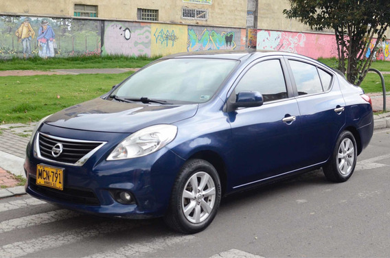 Nissan Versa Advance 2013 Mt 1600