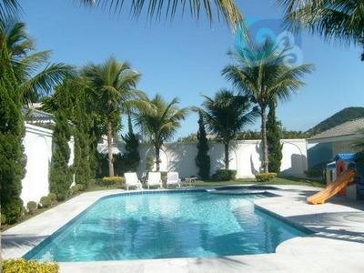 Casa Para Locação, Condomínio Jardim Acapulco - Guarujá - Ca0967