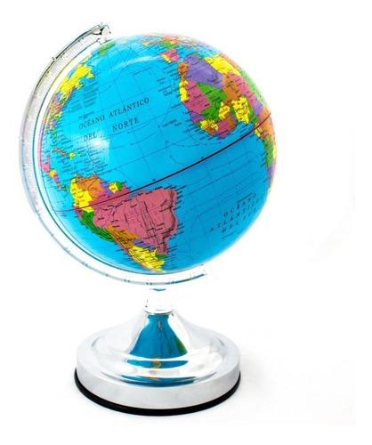Globo Terráqueo 30cm Diámetro Político Mundo Mapas Mapamundi