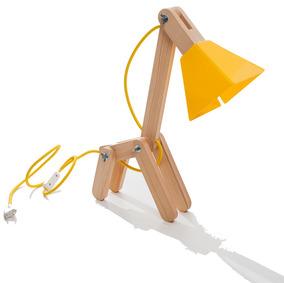Luminária De Mesa Mosdef - Desigm Ecológico Luminaria Design