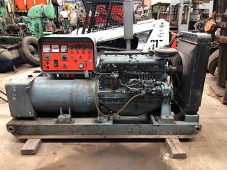Grupo Electrógeno Usado 70 Kw Motor Fiat Funcionando