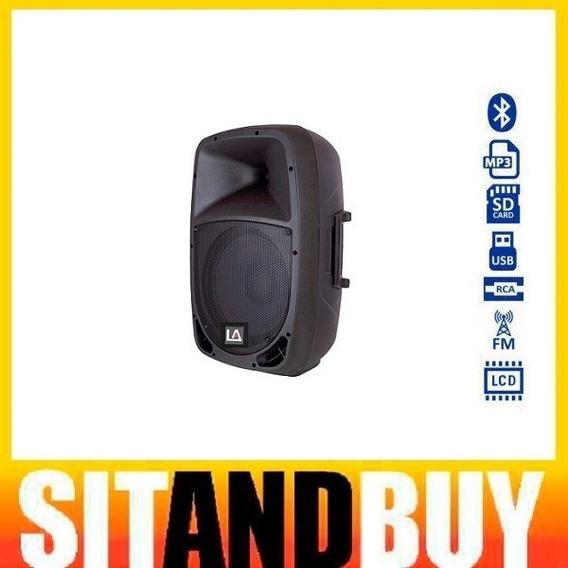 Locação Caixa De Som Ativa Portátil 8 Polegada Mp3 Bluetooth