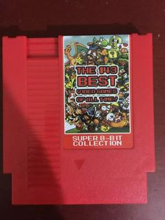 Cartucho De Nintendo Con 143 Juegos Los Clasicos
