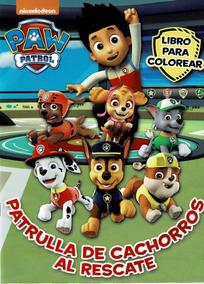 Libros Para Colorear Fiestas Infantiles Paw Patrol 3