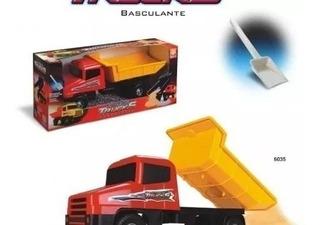 Brinquedo Caminhão Infantil Basculante C/ Pá - Strada Trucks