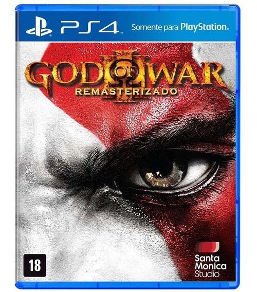 Jogo Lacrado Midia Fisica God Of War 3 Pt Remasterizado Ps4