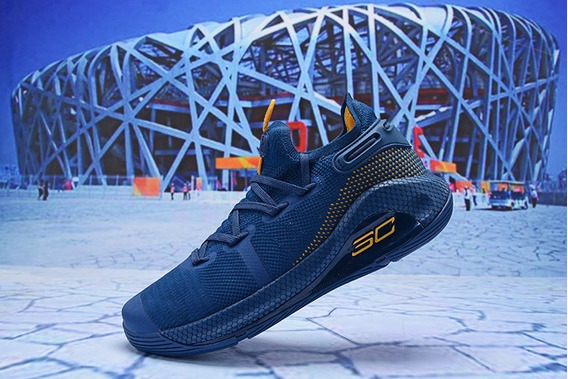 Zapatillas Under Armour Curry 6 Blue 2019