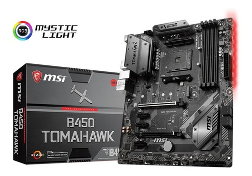 Board Msi B450 Tomahawk Amd Socket Am4 Ryzen