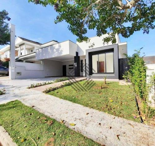 Casa Com 3 Dormitórios À Venda, 215 M² Por R$ 1.180.000,00 - Condomínio Lago Da Boa Vista - Sorocaba/sp - Ca7460