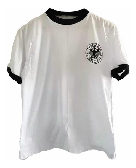 Remera Alemania 74 Beckenbauer Algodón Retro