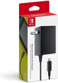 Carregador Fonte Nintendo Switch Original Lacrado