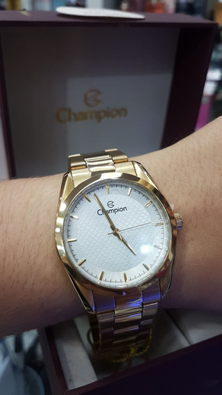 Relógio Champion Feminino - Cn29525w (com Colar E Brincos)