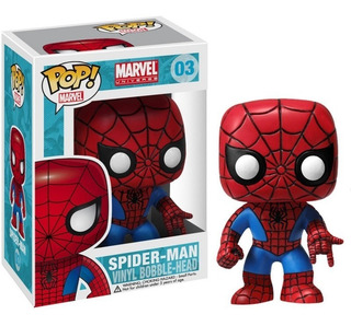 Funko Pop Marvel 03 Spiderman Hombre Araña