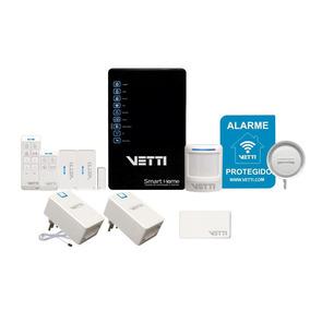 Sistema De Automação E Alarme Smart Home Kit Vetti