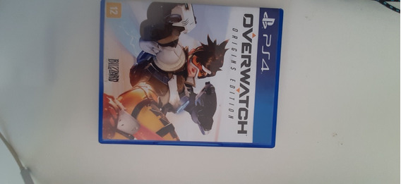 Jogo Overwatch Edição Origins Para Playstation 4 Ps4