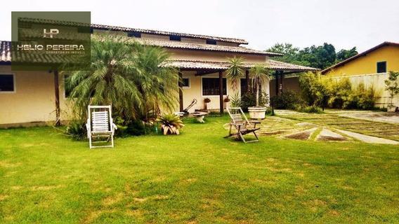 Casa 4 Quartos Em Itaipuaçu, Com Piscina E Churrasqueira - Ca0324
