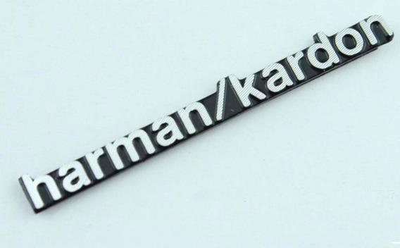 Kit 2 Adesivo Emblemas Harman Kardon Mercedes Bmw Land Rover