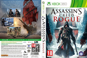 Midia Digital Assassins Creed Rogue Xbox 360