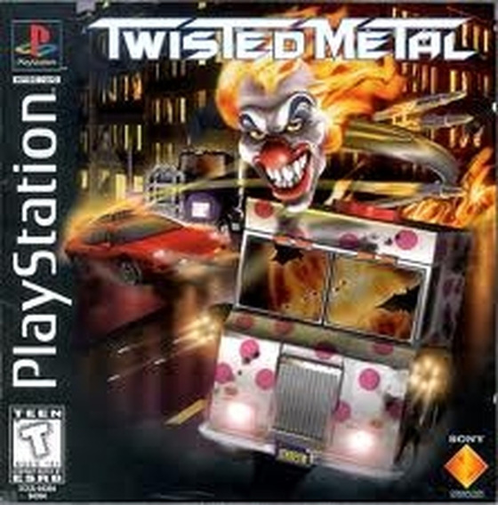 Jogo Twisted Metal Ps1