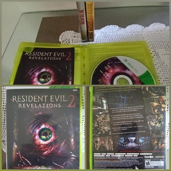 Games Jogos Usados Xbox 360 Resident Evil Revelations 2