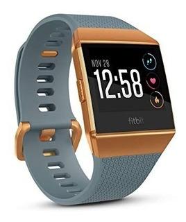 Smartwatch Waterproof Fitbit Ionic Gps Nuevo Azul Mate