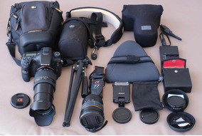 Câmera Fotográfica Sony Slt A 77 V Com 2 Lentes