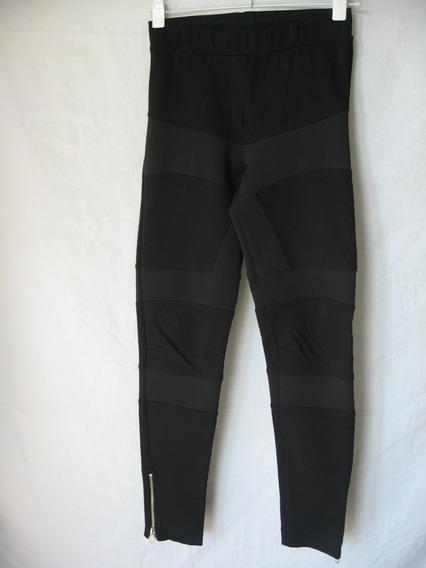 Calzas/leggings Maria Vazquez, Talle 1/40, Elastizada
