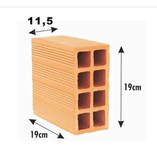 6mil Tijolos 8furos 11.5x19x19cm (entregamos Em Sc)