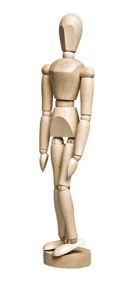 Manequim Articulado Sinoart Feminino 30cm Natural