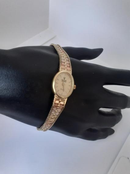 Reloj Oro Puro 14k Vicence Esclava Centenario Rolex Gold&lux