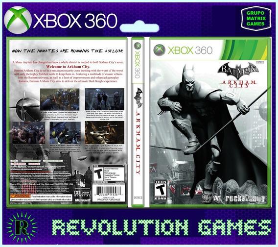 Batman Arkam City - Jogo Para Download Da Live Xbox