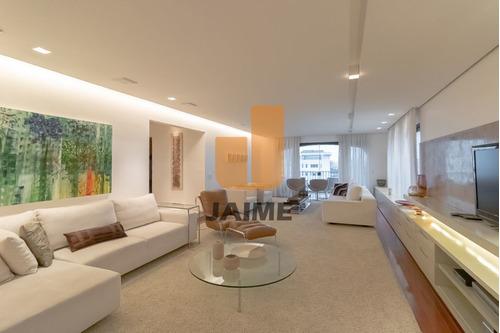 Apartamento Para Venda No Bairro Higienópolis Em São Paulo - Cod: Ja6077 - Ja6077
