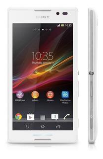 Sony Xperia C C2304 , Dual Chip, 8mp Branco Novo Vitrine