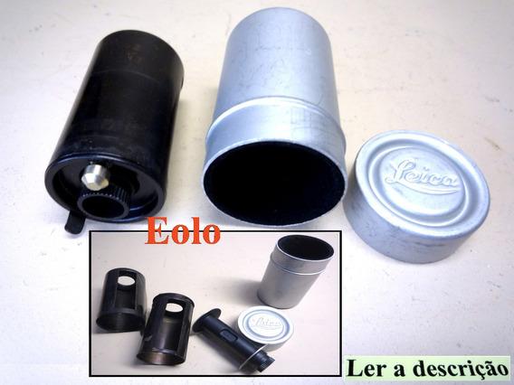 Leica - Magazine Filme 35mm C Estojo - Raro Original Leitz &