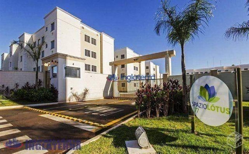 Apartamento À Venda, 46 M² Por R$ 170.000,00 - Jardim Nações Unidas - Londrina/pr - Ap0390