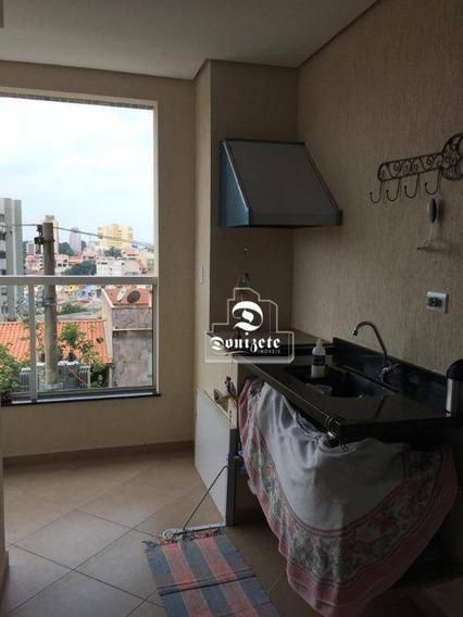 Apartamento Com 3 Dormitórios À Venda, 90 M² Por R$ 560.000,00 - Santa Maria - São Caetano Do Sul/sp - Ap10770