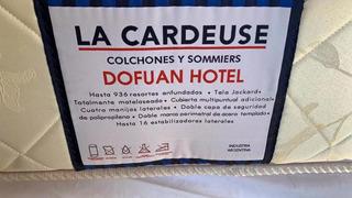 Sommier 2 Plazas La Cardeuse Dofuan 1,40x1,90