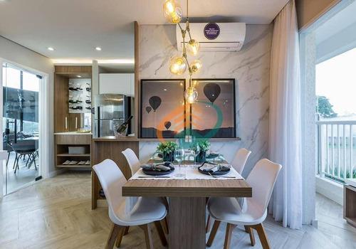Imagem 1 de 9 de Lançamento Top Guarulhos  Mcmv Próximo Ao Shopping Internacional 43 Metros 2 Dorms - Ap0751