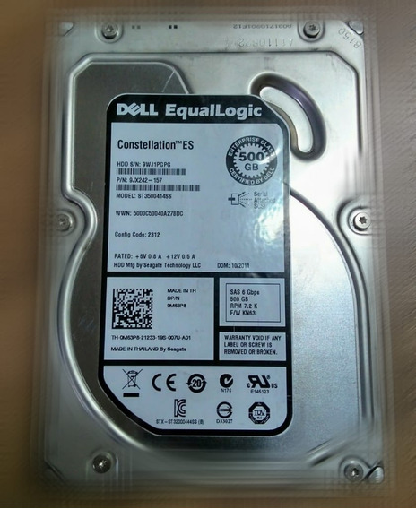 Dell Constellation Es 500gb 7.2k Sas 6gbps -om63p8