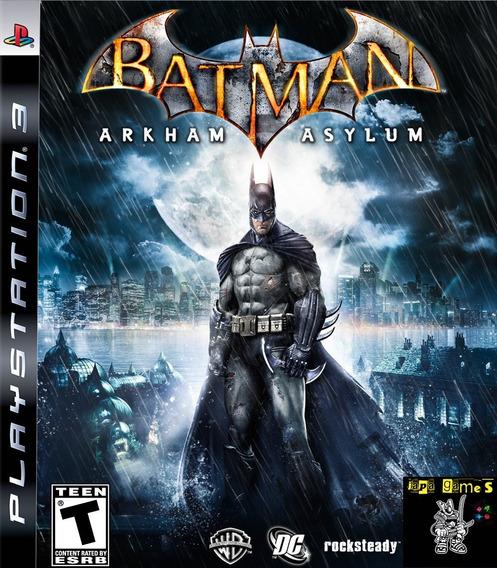 Batman Arkham Asylum Jogos Ps3 Psn Original Receba Hoje