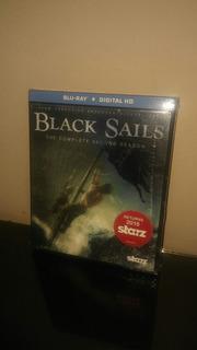 Blu Ray Black Sails Season 2 (con Cover Lenticular) Sellado