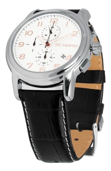 Reloj Para Dama Correa De Piel Truper 61070