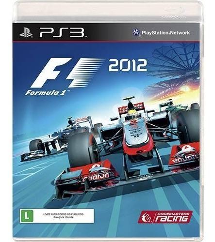 Formula 1 - F1 2012 - Ps3 Mídia Física