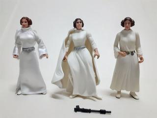 Star Wars - Princesa Leia - Lote De 6 Figuras De 9 Cm - L09