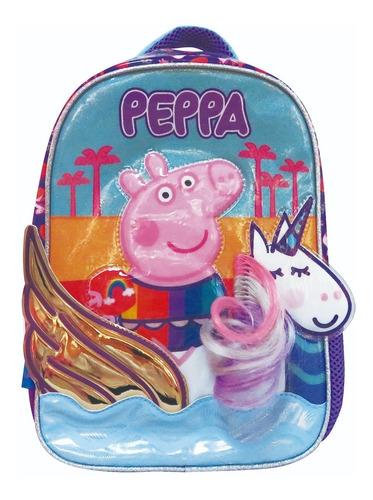 Mochila Peppa Pig Unicornio 12 Jardin Escolar Pp495 Mapleweb
