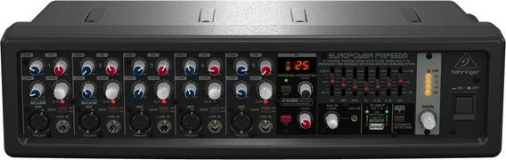 Mixer Amplificado Behringer Pmp500m Com 500w E 5 Canais