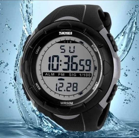 Relógio Masculino Digital Skmei Original Sshock