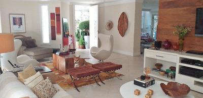 Casa Em Indianópolis, São Paulo/sp De 454m² 4 Quartos À Venda Por R$ 2.500.000,00 - Ca239982